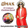 OMAX Scarf Scarves shawl Korean style long scarf  Sun protection shawl