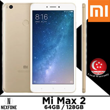 Xiaomi Mi Max 2 •64GB/4GB RAM w/Playstore Global Rom *1 Shop Warranty