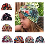 fd9a9264c2d 2017 Spring Autumn Flower print Cotton Baby Hat Girls Boys beanie Toddler  Infant Kids Caps Lovely bo