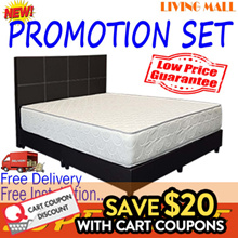 BED FRAME WITH FOAM MATTRESS PACKAGE from $140 after Coupons!! | Free Delivery and Installation