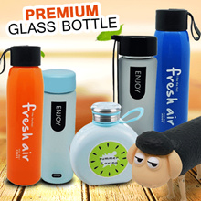 [Special Promo] Botol Minum kaca Best Quality