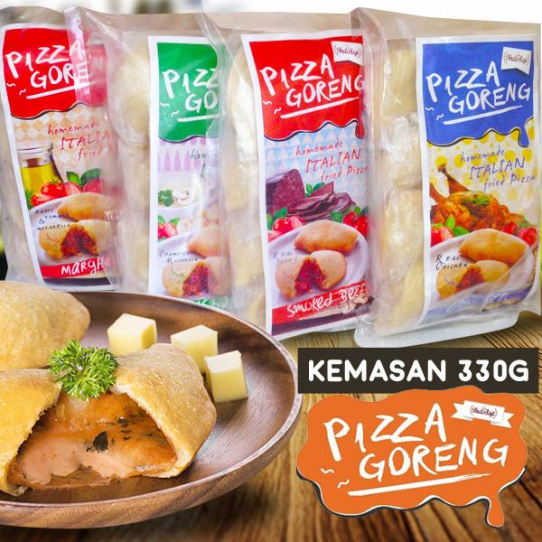 Gurih dan Lezat Dengan 8 Pilihan Rasa Pizza Goreng