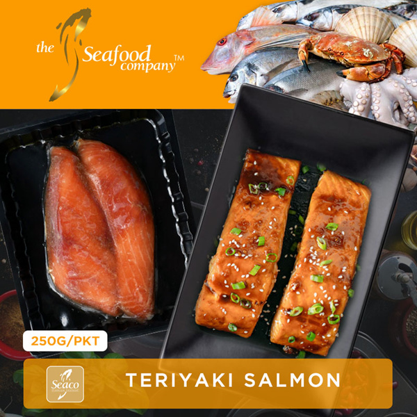 [TheSeafoodCompany] Teriyaki Salmon Deals for only S$10 instead of S$0