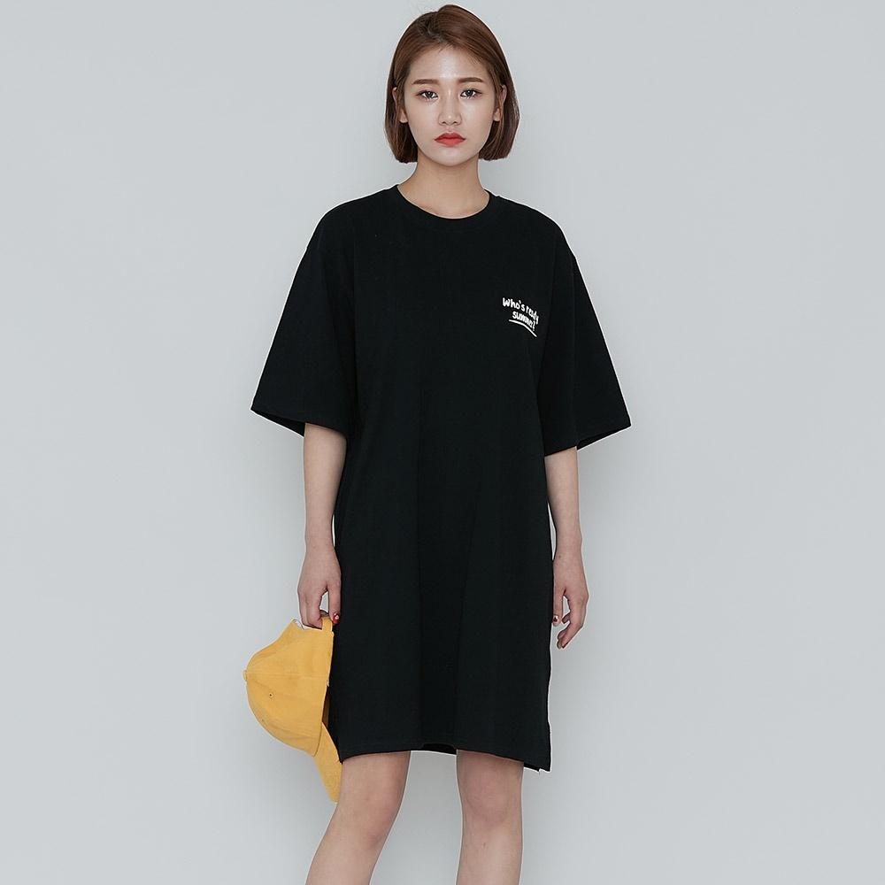 [ROCOSIX官方旗艦店] 印刷棉製連衣裙