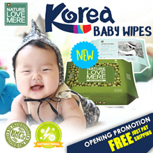 [JUST PAY SHIPPING]★NEW Korea Wet Wipes★ Natural Ingredient | Eco-Friendly | Moist | Premium Quality
