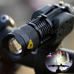 High Quality bike light CREE Q5 zoom flashlight mini torch 450LM LED Cycling Bike Bicycle Front Head