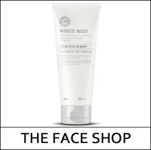 [THEFACESHOP] White Seed Exfoliating Foam Cleanser 150ml / Daily Peeling / mild scrub