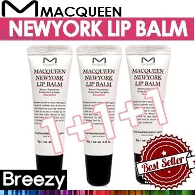 [MACQUEEN][BREEZY][MACQUEEN]NEW YORK LIP BALM 1+1+1