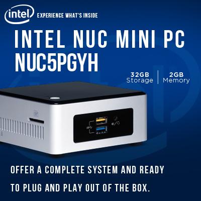 [CHEAPEST in QOO10 | Brand New In Box] Intel NUC Kit - MinI Desktop Latest  Model! Quad Core Pentium NUC Mini PC Kit with 32GB SSD + Win10