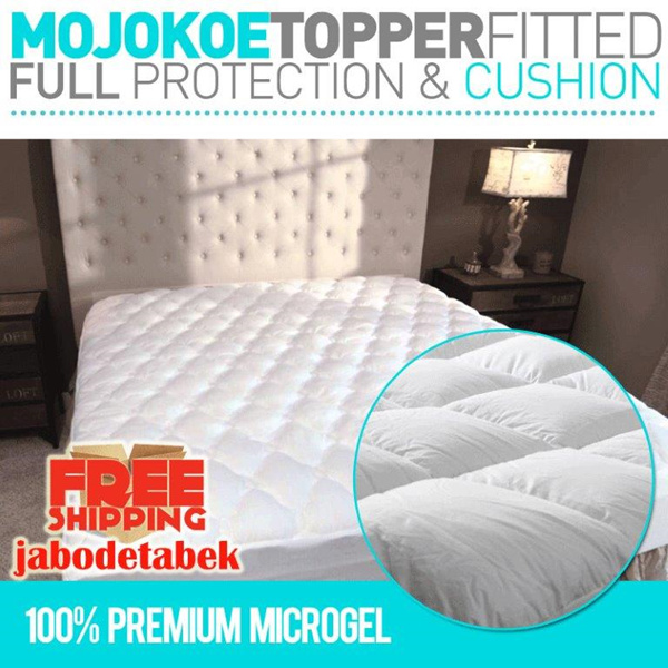 HOTEL MATTRESS TOPPER FITTED|FEELS LIKE GOOSE DOWN Deals for only Rp895.000 instead of Rp895.000