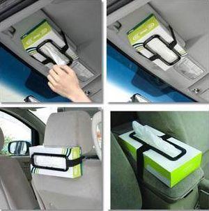 Car Tissue Box Holder Accessories Simple Design Highest Quality
