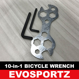 10 in 1 Multi Purpose Bicycle Wrench | Bicycle Spanner