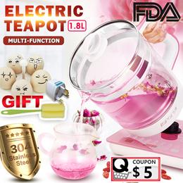 ⚡3 Gifts~SUPER SALE⚡1.8L Health Pot PREMIUM Multi-function Automatic Teapot Electric Kettle
