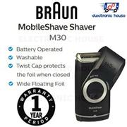 ★ Braun M30 MobileShave Shaver ★ (1 Year Singapore Warranty)