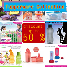 TUPPERWARE PROMOTION COLLECTION DISCOUNT UP TO 60% UNDER 100.000