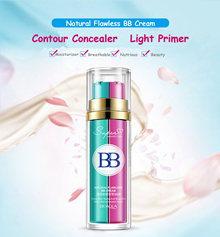 Bioaqua 2 In 1 Base Makeup BB Cream Primer Foundation Flawless Make Up(NATURAL)