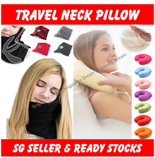 U-Shaped Neck Pillow / Memory Foam / Cushion / Travel / Office / Bedroom / Protect Head Shoulder