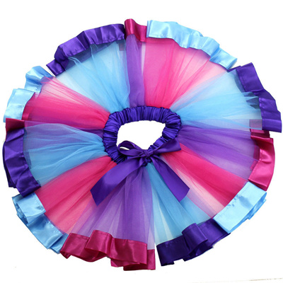 1bf33f5831a82 outlet New Kid Baby Girls Rainbow Tutu Skirt Unicorn Headband 2Pcs Photo  Prop Costume Outfits Party
