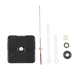 DIY Clock Mechanism Hanging Black Quartz Watch Wall Clock Movement Mechanism Parts Repair Replacemen