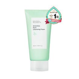 ★★ ROUND AROUND ★★ Green Tea Pure Cleansing Foam 150ml