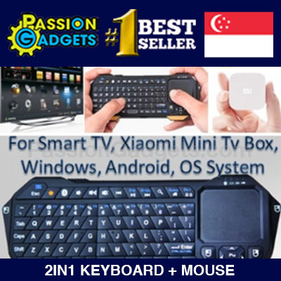 [xiaomi][Local Seller!] 2in1 Wireless Bluetooth Keyboard+Touchpad Mouse  Slim Ultra-thin Flymouse F21 Apple