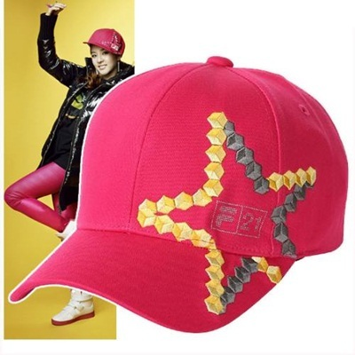 12056136 Qoo10 - [FILA] 2 NE 1 LIMITED EDITION star CAP - PINK Sandara : CD / DVD