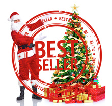 (2017 Best Quality)150cm/180cm Premium Deluxe Christmas Tree Package include full set decorations