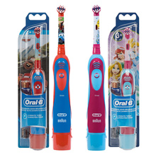 Oralbi Kids Electric Toothbrush D2 Stage Power Car / 2 Princess