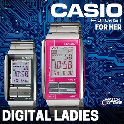 1f8957c1a [BUY] CASIO GENUINE Ladies Futurist Digital Watch For The Dressy Look! **