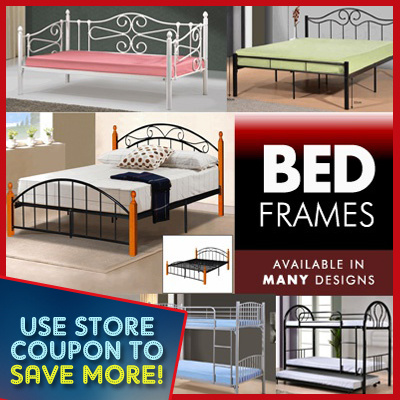 Qoo10 Hanover Soho Queen Metal Bed Frame Search Results Q