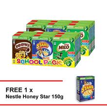 NESTLE School Pack Cereal  Buy 2  Free Honey star 150g
