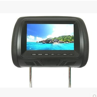 Qoo Inch HD Digital LCD Car Headrest Monitors DVD Navigation - Car show headrest monitors