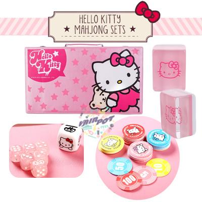 bfacd4298 Qoo10 - 🔥🀄CNY MAHJONG 70% SALE!! Hello Kitty / Tiffany Mahjong ...