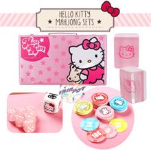🔥🀄CNY MAHJONG 50% SALE!! Hello Kitty / Tiffany Mahjong Sets and Poker Chips★Ready Stocks🎲💰🔥