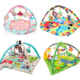 * New Arrive  baby educational playmat with toy /playgym/play gym/mattress