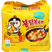 SAMYANG Hot Chicken Cheese Ramen 5x140g - READY STOCK