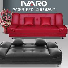 IVARO Sofa Bed Pumpkin Plus Bantal 2 pcs - FREE Shipping dan Perakitan Jabodetabek