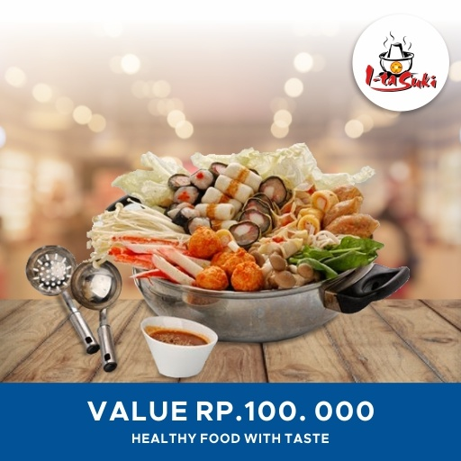 [DINNING] Ita Suki/ Rp.100000 Value Voucher/ Qoo10 Big Discount Deal Deals for only Rp110.000 instead of Rp110.000