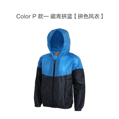 Windbreaker Custom Printed logo waterproof color trench coat Overalls  custom coat print printed prin