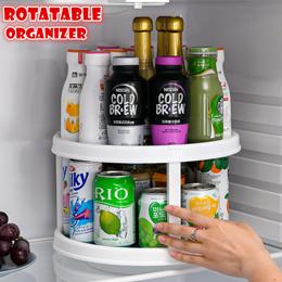 Rotatable Organizer Kitchen rack Storage Tray Multi-Function Combined seasoning rack