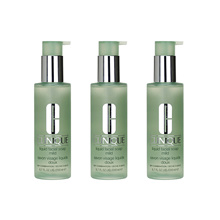 3 PCS Clinique Liquid Facial Soap 6.7oz,200ml Skin Cleanser Mild (Dry Comb)