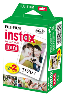 [120 pieces] Set of 1 dozen packs of 10 - New Fuji Instanx Mini Film 100 Pcs and up