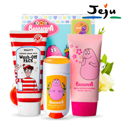 EPONA Calamine Suncream//Qyo Qyo Tangerine Bright+Moist Jelly Sunblock//WALLYS TOMATO Cleansing Foam Deals for only Rp59.000 instead of Rp163.889