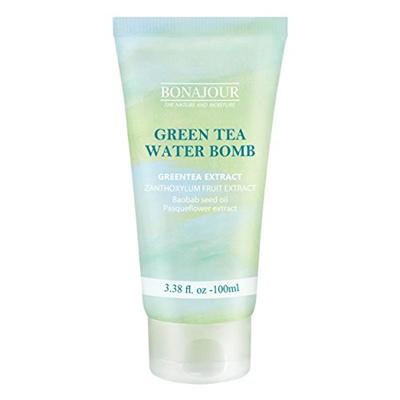 [BONAJOUR]Green Tea Natural Moisturizing Cream for dry and sensitive skin, Best Face Moisturizer 3.3