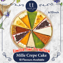 [UnderTree] Mille Crepe Cake 11 Flavours available! Free Shipping!