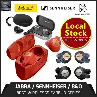 SennheiserJABRA ELITE 65T ACTIVE | SENNHEISER MOMENTUM TRUE WIRELESS |  BEOPLAY E8 - 12 Months Warranty