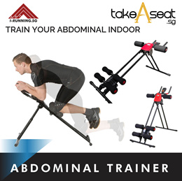 Ultra 150 Foldable Abdominal Trainer power plank (INSTOCK)