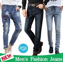 2018 Fashion jeans / Skinny Classic jeans / Straight jeans / Hip-Hop Jeans / Slim Trousers Pants