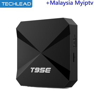 T95E Android 5 1 MYiptv Media Player Quad Core With Malaysian MY TV  Channels list Singapore IPTV Pac