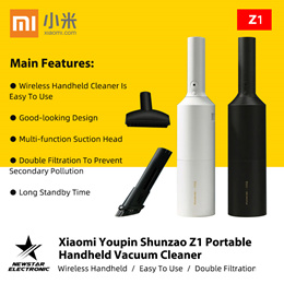 Xiaomi Youpin Shunzao Z1 Portable Handheld Vacuum Cleaner USB Wireless Charging